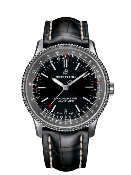 38c 500x667 - Navitimer 1 Automatic 38  Steel - Black