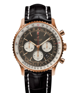 RB012712 F583 760P R20BA.1 247x300 - Breitling Navitimer 1 B01 Chronograph 46  Red gold - Anthracite